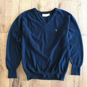Vintage Dior black v neck sweater